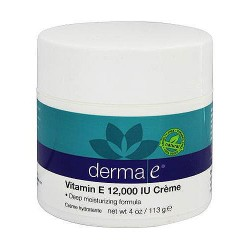 Derma-E with 12000 IU Vitamin E Severely Dry Skin Creme - 4 oz