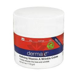 Derma E Vitamin A Retinyl Palmitate wrinkle treatment creme - 4 oz