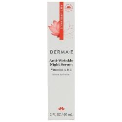 Derma E anti wrinkle night serum - 2 oz