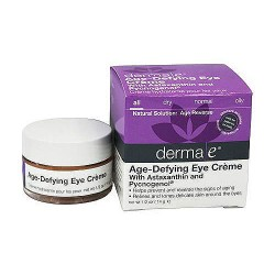 Derma E age defying eye creme with Astaxanthin and Pycnogenol, 0.5 oz