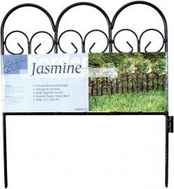 Garden Zone, Llc charleston classics jasmine border fence - 18x16 inch, 16 ea
