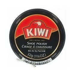 Kiwi shoe polish, black/noir - 32 gm