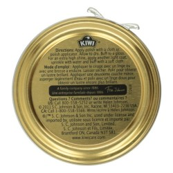Kiwi Brown Shoe Polish - 1.12 oz