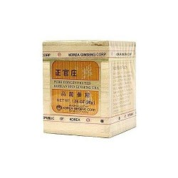 Chinese imports korean red ginseng corp extract jar - 1.06 oz