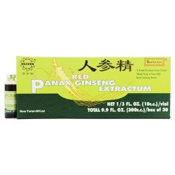 Superior trading company - red panax ginseng extract - 30 vials