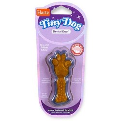 Hartz tiny dog dental duo Edible Chew Combo - 6 ea