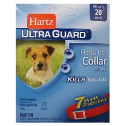 Hartz ultraguard flea and tick collar for dogs - 6 ea