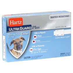 Hartz Ultraguard plus flea and tick collar for dog  - 6 ea