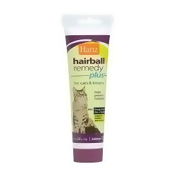 Hartz Hairball Remedy Plus for Cats Paste, Salmon Flavor - 2.5 oz
