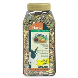 Hartz bonanza pet rabbit gourmet diet  - 4 ea