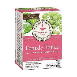 Traditional Medicinal Female Toner Herbal Tea Bags - 16 ea, 6 pack