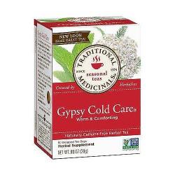 Traditional Medicinals Gypsy Cold Care Herbal Tea Bags - 16 ea