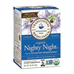 Traditional Medicinals Organic Nighty Night Herbal Tea Bags - 16 ea