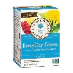 Traditional Medicinals EveryDay Detox Herbal Tea Bags - 16 ea