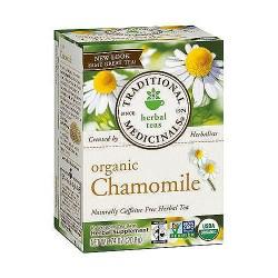 Traditional Medicinals Caffeine Free Organic Chamomile Herbal Tea Bags - 16 ea, 6 pack