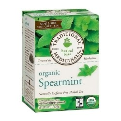 Traditional Medicinals Organic Spearmint Tea Bags - 16 ea, 6 pack