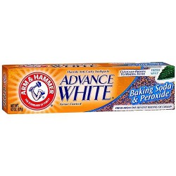 Arm and Hammer advance white baking soda and peroxide tartar control toothpaste - 4.3 oz