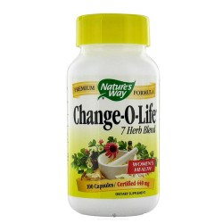 Natures Way Change-O-Life 7 Herb Blend 440 mg Capsules For Women Health - 100 Ea