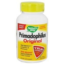 Natures way primadophilus original vegetarian capsules, for all ages - 180 ea