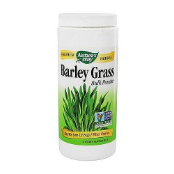 Natures Way Barley Grass Bulk Powder, Chlorophyll Source - 9 Oz