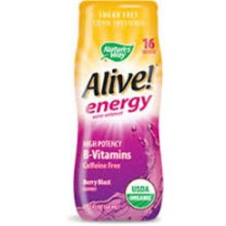 Nature's way alive berry blast energy organic water enhancer - 2.13 oz