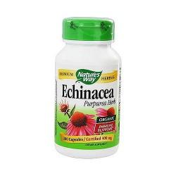 Natures Way Echinacea Purpurea Herb Capsules - 100 ea