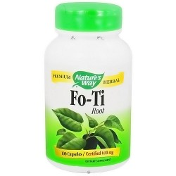 Natures Way Premium Herbal Fo-Ti Root Capsules - 100 ea