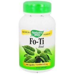 Natures Way Premium Herbal Fo-Ti Root Capsules - 100 ea