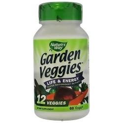 Natures way garden veggies vegetarian capsules - 60 ea