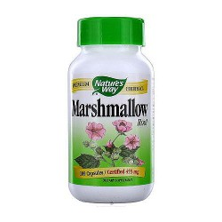 Natures Way Marshmallow Root 455 mg Capsules - 100 ea