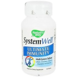 Natures Way SystemWell Ultimate Immunity Multi System Defense Tablets - 45 ea