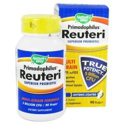 Natures way primadophilus reuteri superior probiotic vegetarian capsules - 90 ea