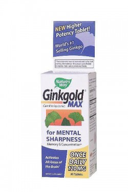 Nature's Way Ginkgold Max 120mg - 60 ea