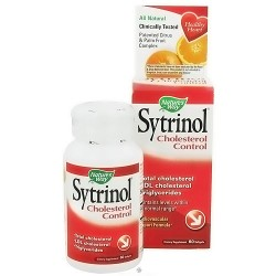 Natures Way Sytrinol Cholesterol Control Softgels - 60 ea