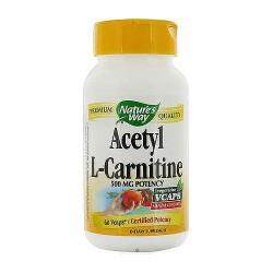 Natures Way Acetyl L-Carnitine Mental Function Vegi Capules - 60 Ea