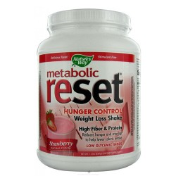 Natures Way Metabolic Reset Weight Loss Shake Mix Powder, Vanilla - 1.4 lb
