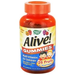 Natures Way Alive Multivitamin Gummies For Children - 90 Ea