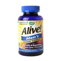 Natures way alive mens gummy multivitamin -  75 ea