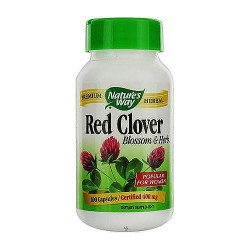 Natures Way Red Clover Blossom and Herb Capsules for Women - 100 ea