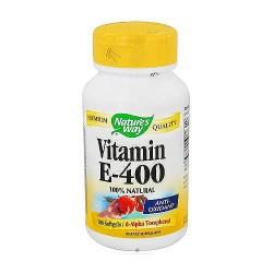 Vitamin e-400 iu softgels with d-alpha tocopherols by natures way - 100 Ea