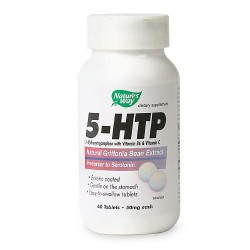 NATURE'S WAY 5-HTP 50 MG - 60 ea