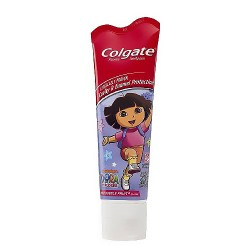 Colgate Dora The Explorer Antiactivity Fluoride ToothPaste  52544 - 4.6 Oz