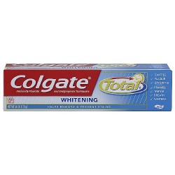 Colgate Total Plus Whitening Toothpaste, 6 oz
