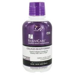 Rejuvicare collagen beauty formula, delicious grape - 16 oz