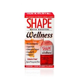 Shape water boosters wellness natural pomegranate flavor - 2 oz