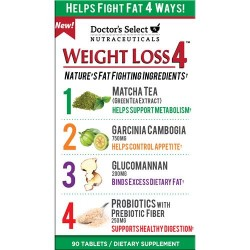 Doctors select nutraceuticals weight loss 4  capsules - 90 ea