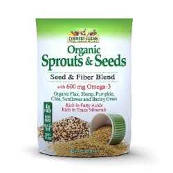 Country farms organic sprouts and seeds with 600 mg - 12 Oz