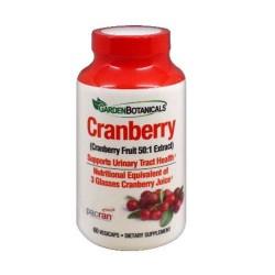 Garden botanicals cranberry - 60 ea