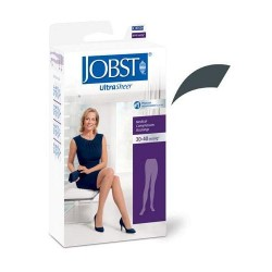 Jobst women's ultrasheer pantyhose 30-40 mmhg extra firm support anthracite medium - 1 ea
