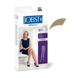 Jobst women's ultrasheer pantyhose 30-40 mmhg extra firm support honey small - 1 ea